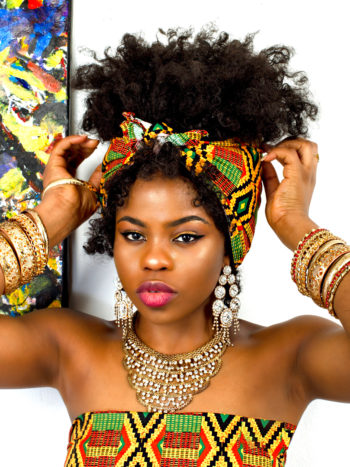 AMELIA HEAD-WRAP AFRICAN PRINT