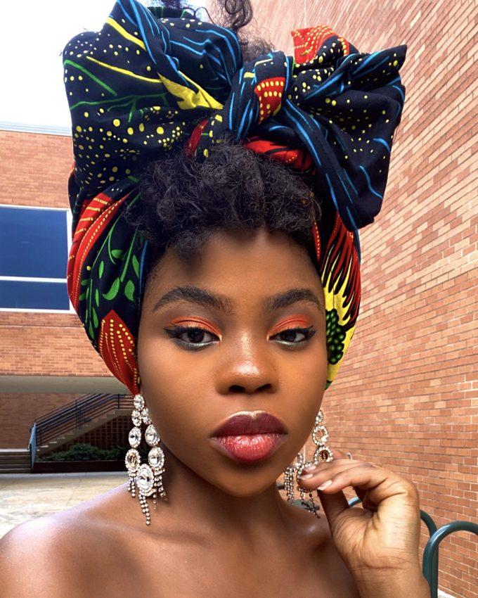MONIFA HEADWRAP WOMEN'S AFRICAN PRINT