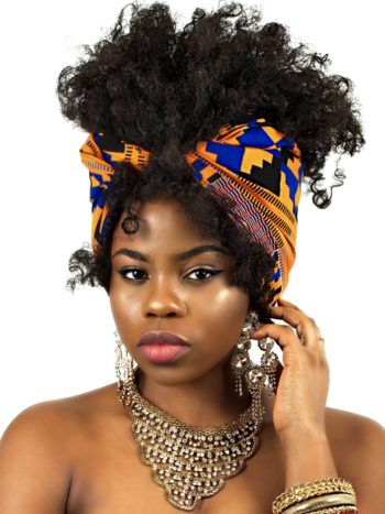 FRIDAY HEAD-WRAP AFRICAN PRINT