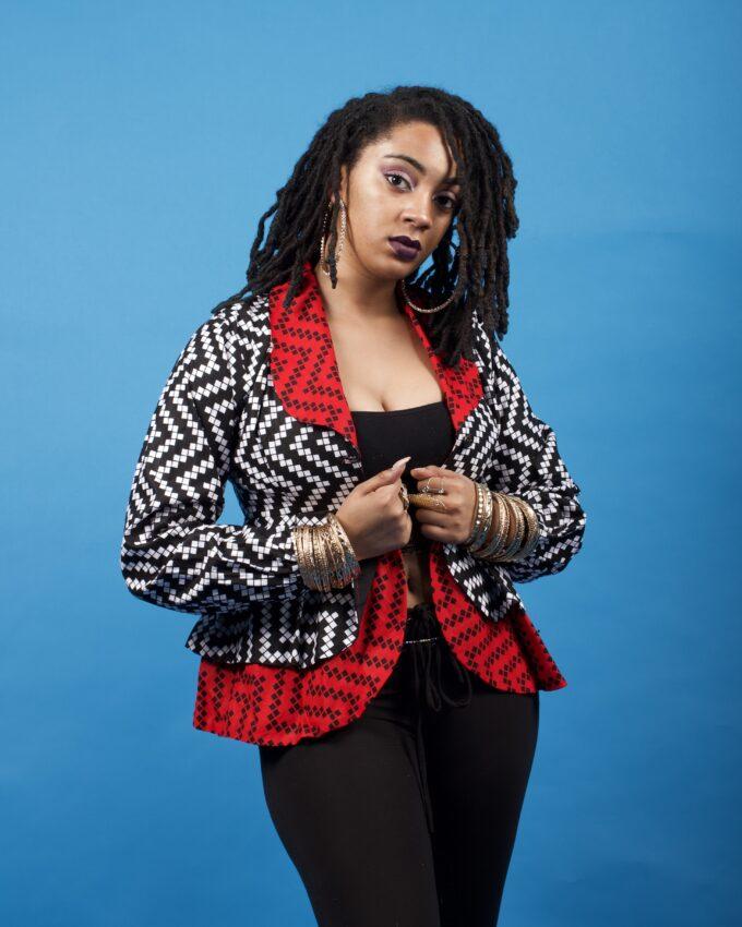 NAIROBI Ankara Dashiki Kente African Jacket