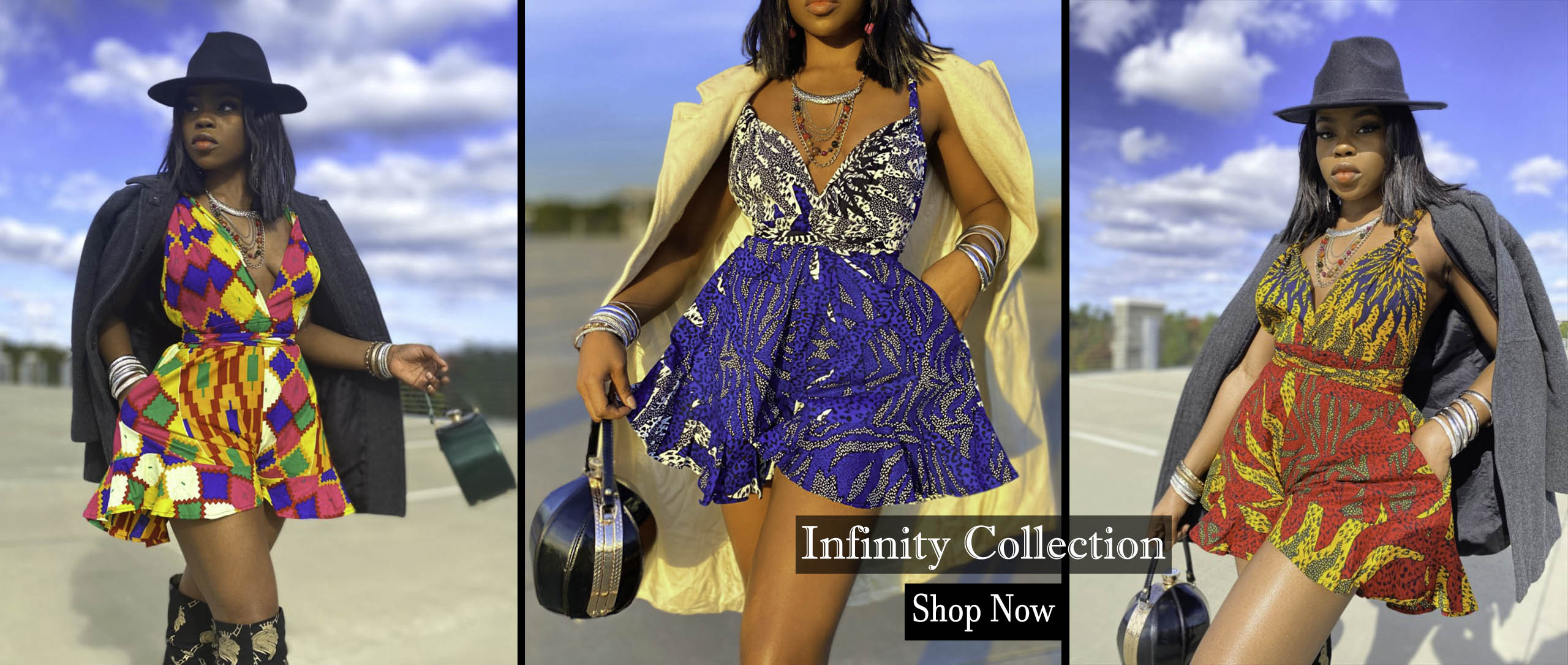 infinity Romper Collection