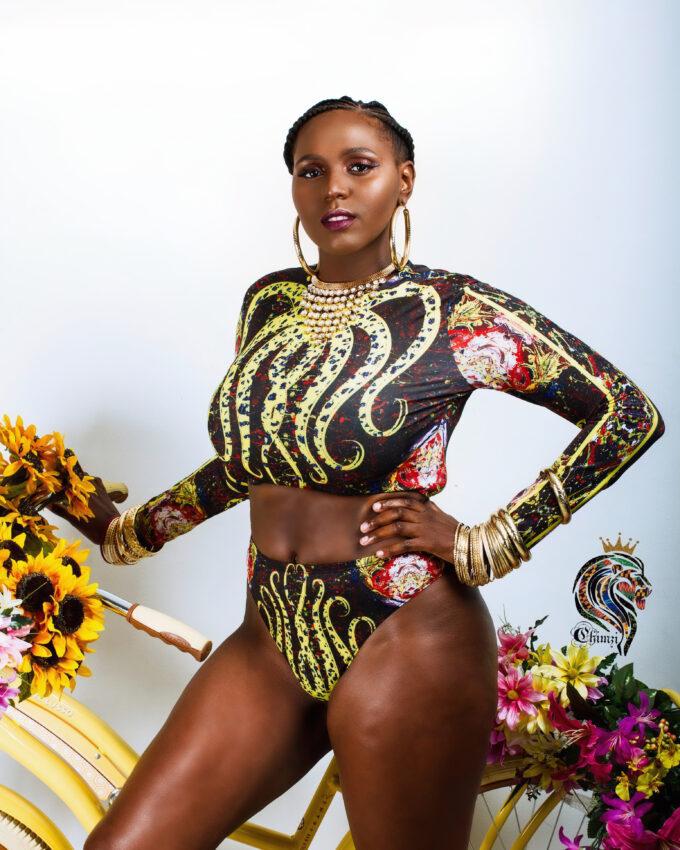 NALA (AFRICA SHAPED KENTE BAG / BACKPACK)